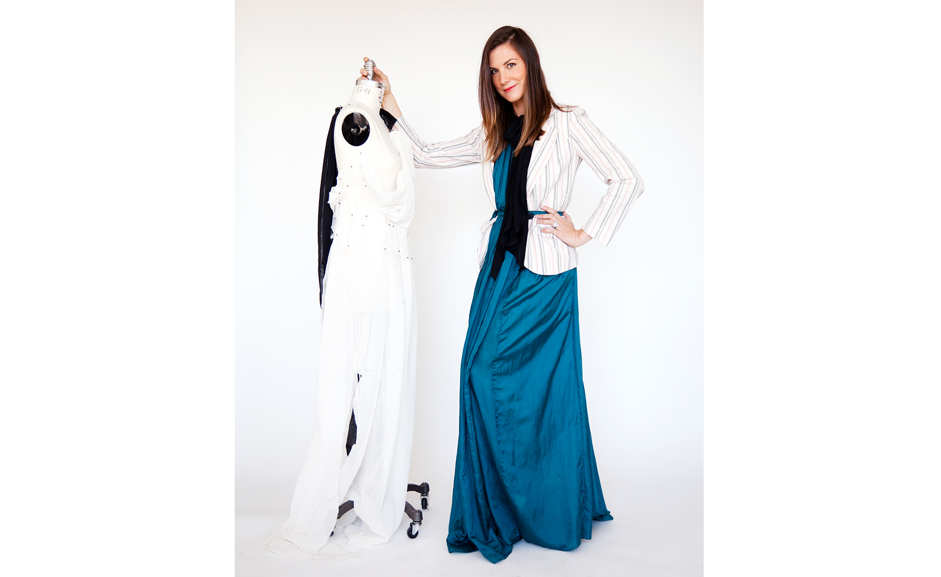 Heidi Merrick fashion designer los angeles ca